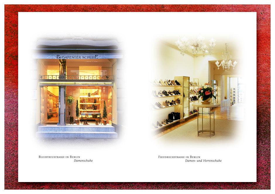 Broschüre Budapester Schuhe