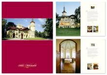 Hotel-Broschüre Schloss Hubertushöhe, Titel und Innenseiten