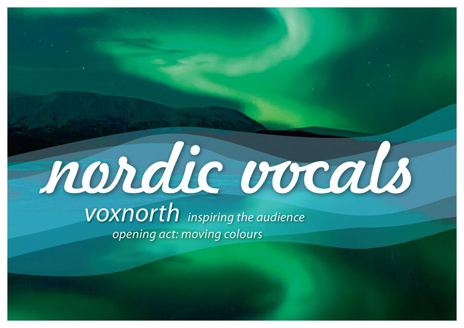 Nordic Vocals – Key Visual für ein Konzert