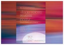 Flyer Chor-Konzert Village Voices und Postyr