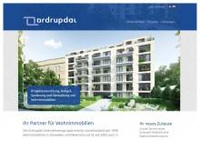 Website Ordrupdal Immobilien